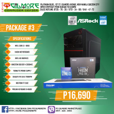 PC Package #3 - Intel Core i3 10100