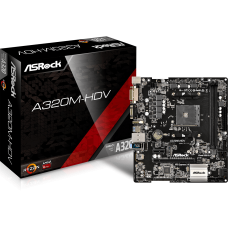 ASROCK A320M-HDV MOTHERBOARD