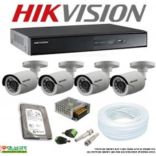 CCTV PACKAGE 2 - 8CH 720P