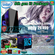 Gaming Basic Mid-Level Package - Intel Core i3