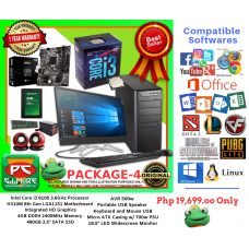 PC Package 4 - Intel Core i3 8100