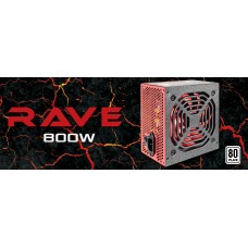 Aerocool Rave 800w 80+ Bronze Power Supply