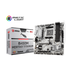 MSI B450M MORTAR TITANIUM AM4 SOCKET