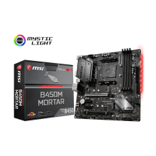 MSI B450M MORTAR AM4 SOCKET