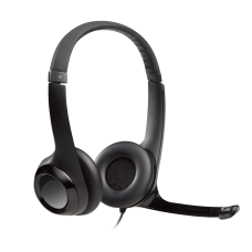 Logitech H390 USB Clear Chat Headset with Noise Cancelling