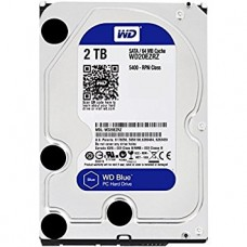 "Western Digital Blue 2TB 7200rpm 3.5"" Hard Disk Drive"